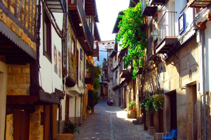 Villages espagne Mogarraz (Salamanca)